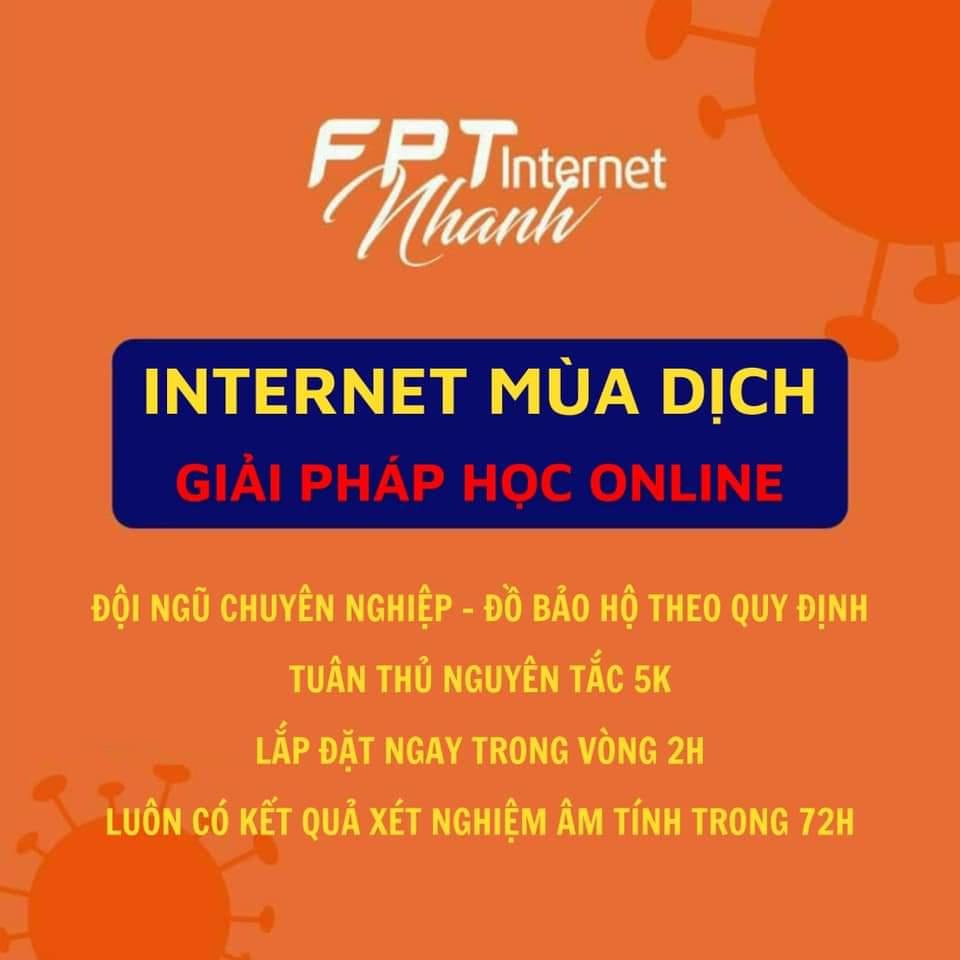 GIẢI PHÁP HỌC ONLINE INTERNET MÙA DỊCH VỚI SIÊU KHUYẾN MÃI THÁNG 9/2021
